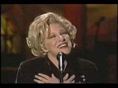 "#Bette_Midler -  ""In my life"". Originally written by John Lennon and sang by #The_Beatles. She just puts so much heart into it though. ♥"