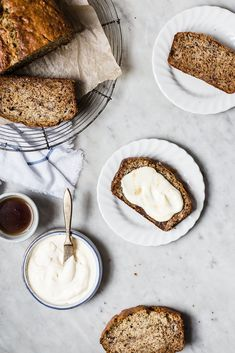 Banana Banana Bread with Maple Mascarpone / The Modern Proper / Food styling / Food photography inspiration