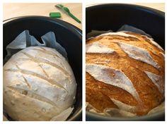 Le pain cocotte - La faim des bananes ! Brioche Bread, Sweet Cooking, Family Meals, Bakery, Brunch, Desserts, Recipes, Pizza, Croissants