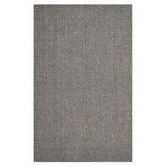 Bring classic style to your master suite or home office with this woven jute rug, showcasing a grey hue for eye-catching appeal.  Pr...