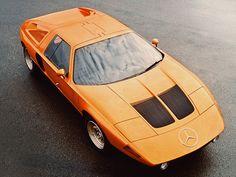 Mercedes C111 - 1969