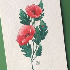 Sandra Ruberto (@sandra__ruberto) • Instagram photos and videos Ap Art, Painting Process, Gouache Painting, Flower Power, Flora, Watercolor, Photo And Video, Illustrations, Instagram