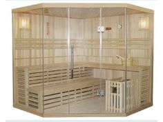 New for 2018 - 4/5 person sauna (extra charge).