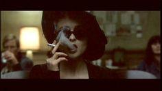 Helena Bonham Carter as Marla Singer in Fight Club Fight Club Marla, Fight Club 1999, Marla Singer, Cinema, Celebrity Skin, Helena Bonham Carter, Life Philosophy, Girls Rules, Women Smoking
