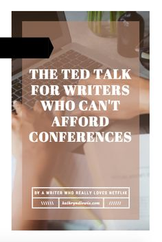 The TED Talk for Writers Who Can't Afford Conferences // Why aren't you running your writing life? You're spending at least an hour a day trolling that writing group you joined on Facebook, cheering on others' wins and supporting those who struggle with motivation. The latter, dollface, is you. You're lazy, and it isn't a good look. I have a few things to say about that. | Click to read now, or re-pin to save for later!
