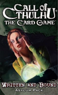 Call of Cthulhu: The Card Game – Written and Bound Asylum Pack