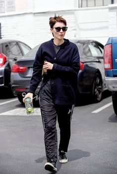 Rooney Mara leaving the gym in Los Angeles