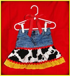 Jessie the Cowgirl Twirly Skirt Inspired by Disney's Toy Story