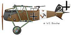 Halberstadt CL.IV - 1918