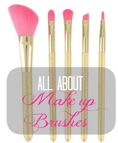 All you need to know about make up brushes