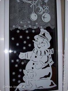 Elemente de decor de Anul Nou cu ferăstrău Decoratiuni de Craciun Photo Paper 2