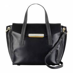 e66ed67e6f39 Black Leather Easton Grab Bag - Radley - Private sales - BrandAlley
