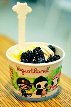 Tokidoki for Yogurtland
