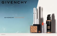 MAKE A STATEMENT WITH TWO VIBRANT SHADES DRESSED IN PURE WHITE.  The perfect pairing for bronzed skin is a vibrant lip. For years, we've seen sheer, glossy shades at the forefront of warm weather makeup but not this time. This season, Le Rouge Givenchy tempts your daring side with two intense shades reminiscent of gemstones. True collector's editions, No. 309 Croisière Fuchsia (rich purple-fuchsia) and No. 310 Croisière Coral each shade comes encased in a gorgeous white box.