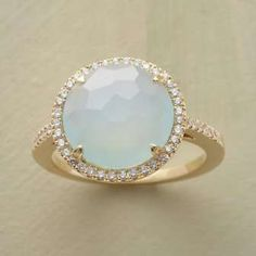 gorgeous chalcedony ring