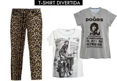 Leopard Pants + T-SHIRT-DIVERTIDA