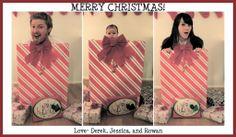 funny Christmas family photo ideas | Family Christmas Card
