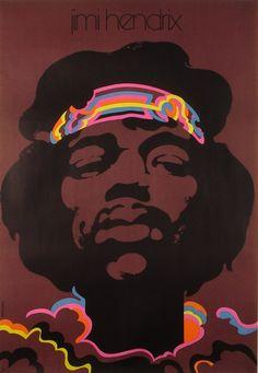 Jimi Hendrix Jimi Hendrix Swierzy Waldemar Polish Poster