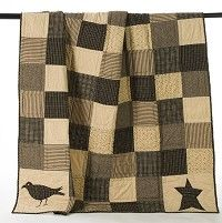 Kettle Grove Patchwork Quilted Throw