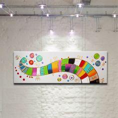 FORTUNE abstraktes Gemälde Bild moderne Kunst von ACRYLIKS GALERIE - Zeitgenössische Malerei auf DaWanda.com