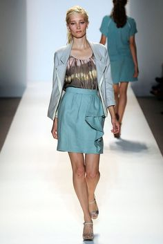 Lela Rose Spring 2010 Ready-to-Wear Fashion Show - Iekeliene Stange