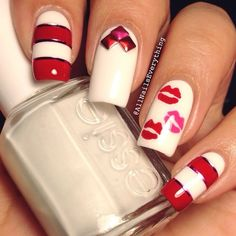 valentine by allnailseverything #nail #nails #nailart