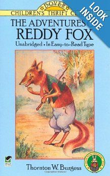 The Adventures of Reddy Fox by Thornton W. Burgess - In Print