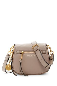 Image of Marc Jacobs Small Recruit Nomad Pebbled Leather Crossbody Bag