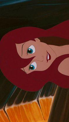 The little mermaid Ariel Disney, Disney Princess Art, Disney Art, Princess Luna, Cartoon Wallpaper, Ariel Wallpaper, Cute Disney Wallpaper, Disney Pixar Movies, Disney Cartoons
