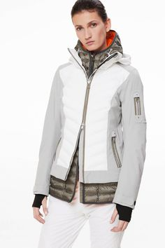 Rumer Ski jacket in Gray for Woman d2a7b863e