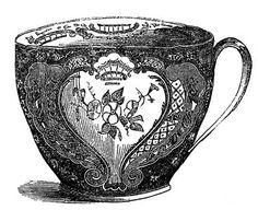 tea vintage vector - Buscar con Google