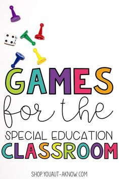 Games make learning engaging. Even in the Special Education classroom. Check out these sets of games that are perfect for Homework or classroom centers.