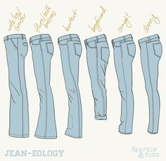 Jean Styles Bootcut Straight Skinny Boyfriend Flare Bell Bottom Trouser Wide-Leg The post Jean Styles Bootcut Straight Skinny Boyfriend Flare Bell Bottom Trouser appeared first on Jeans. Fashion Terminology, Fashion Terms, Fashion 101, Denim Fashion, Fashion Outfits, How To Wear Flannels, Best Jeans For Women, Fashion Dictionary, Fashion Vocabulary