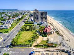 35 Ocean Ave, Monmouth Beach, NJ 07750 | MLS #22130740 | Zillow Monmouth Beach, Stanford White, Ocean Front Property, Buses And Trains, Historic Architecture, Once In A Lifetime, The Hamptons, Acre, Dreaming Of You