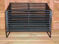 Wood Pellet Basket Insert, 1 Bay, For Wood Stoves.