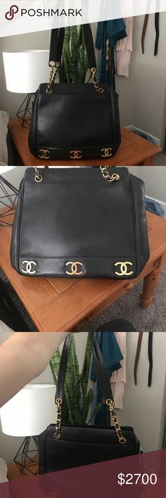 2165819d7aea Chanel 6 CC Caviar Leather Tote Excellent condition! This purse is amazing.  Authentic