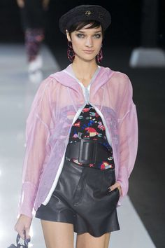 Emporio Armani, Весна/Лето 2018, Лондон, Womenswear