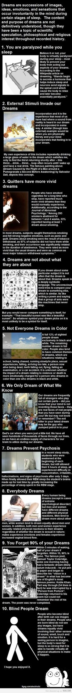 Psychology infographic and charts Interesting facts about dreams. Infographic Description Interesting facts about dreams. Wtf Fun Facts, Funny Facts, Random Facts, Random Stuff, Creepy Facts, Scary, Interesting Facts About Dreams, Amazing Facts, Interesting Stuff