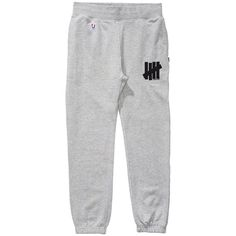 Undefeated 5 Strike HO15 Sweatpant - Men's ($42) ❤ liked on Polyvore featuring men's fashion, men's clothing, men's activewear and men's activewear pants