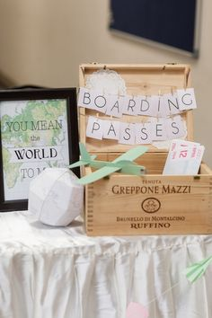 Travel themed wedding. Stories by Integricity. www.theweddingnotebook.com