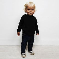 Mini Rodini | Who says you need to dress your kids in bright colours...