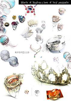 Ilustração design de jóias em Behance