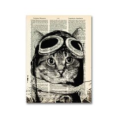 Captain Kitty Ace Aviator, now featured on Fab.