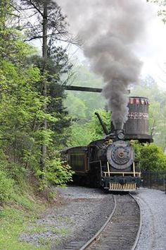 Blue Ridge Mountain Train