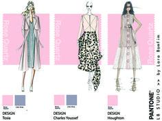Rose Quartz, pantone, color, fashion, trendy, 2016, moda, tendência, croqui, sketch, beleza, design, cor, criatividade, creativity, illustration