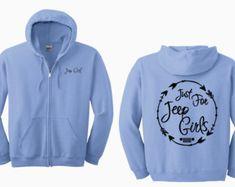 Jeep Girl {Jeepsy Soul} Full Zip Hoodie yoEELWwvm6