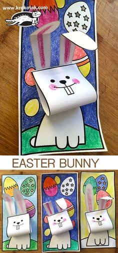 The Effective Pictures We Offer You About DIY Birthday Cards for mom A quality picture can tell you many things. You can find the most beautiful pictures that can be presented to you about DIY Birthda Origami Rose, Bunny Origami, Bunny Crafts, Easter Crafts For Kids, Summer Crafts, Fall Crafts, Holiday Crafts, Easter Coloring Pages, Coloring For Kids