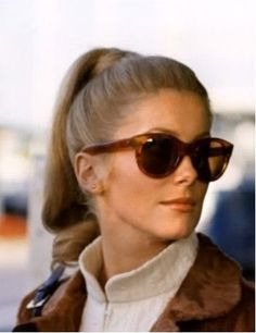 Catherine Deneuve- always uber chic www.focalglasses.com Best Vision in The World!