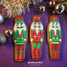 Crazy about nutcrackers by MintWinderland