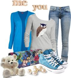 """Me & You"" by returntolife1987 ❤ liked on Polyvore"